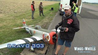 MASSIVE RC Plane P-47 Thunderbolt TJR Warbirds - Wings & Wheels 2021