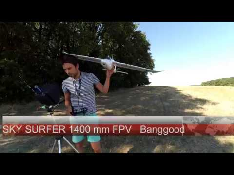 Sky Surfer 1400mm  FPV Airframe and autopilot