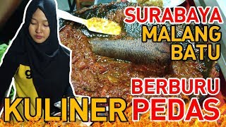 BERBURU SEGO SAMBAL PENYETAN DI SURABAYA DAN RUJAK PALING ENAK DI MALANG!! KULINER SURABAYA & MALANG