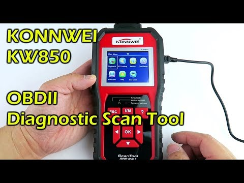 KONNWEI KW850 OBDII Diagnostic Scan Tool