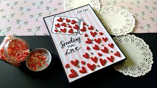 Beautiful Card for Boyfriend   Handmade Card for Boyfriend   Tutorial
