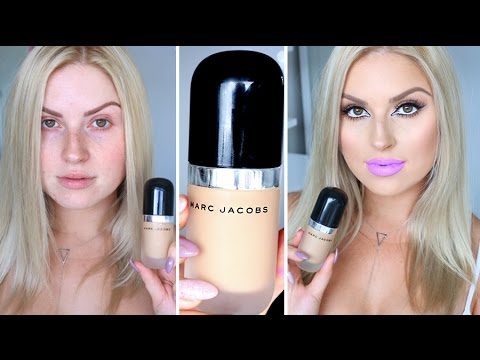 Marc Jacobs Remarcable Foundation ♡ First Impression Review