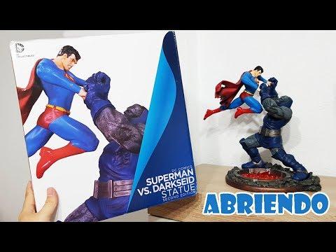 ABRIENDO LA FIGURA DEFECTUOSA - SUPERMAN VS. DARKSEID - JESUSNOID