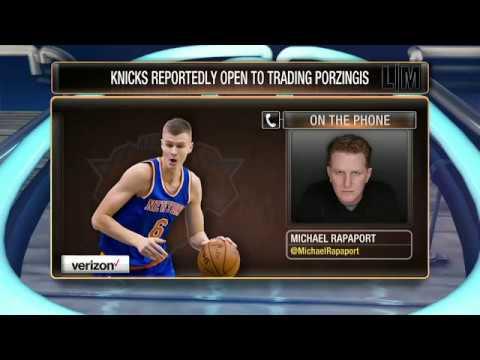 Knicks fan and actor Michael Rapaport talks Phil/KP drama