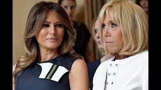 Саммит НАТО превратился в конкурс красоты первых леди. Нам кажется, победила Меланья Трамп!
