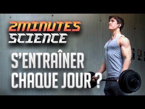 Lensemble des exercices des divers groupes des muscles