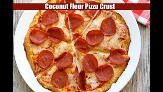 Coconut Flour Pizza Crust
