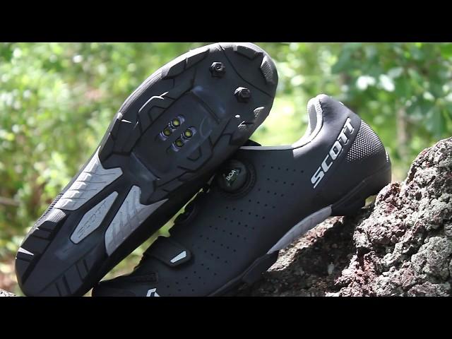 Видео Велотуфли Scott Road Comp BOA (Black/Silver)