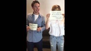 Бенедикт Камбербэтч, Benedict Cumberbatch #EBtonguetwister with Sienna Miller