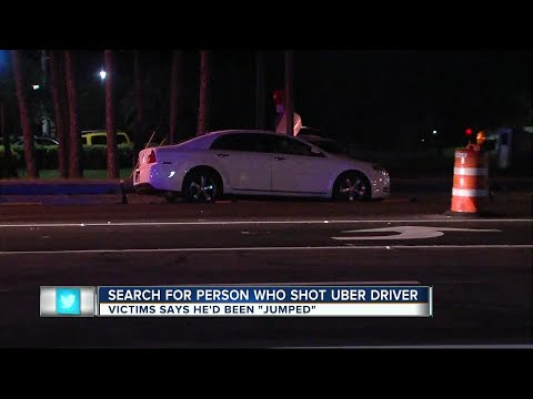 Search for person who shot Uber driver