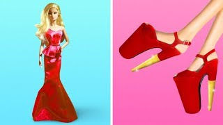 20 CLEVER BARBIE HACKS AND CRAFTS