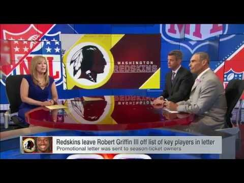 Redskins' Letter To Fans Omits RG III - SportsCenter (02-05-2015)