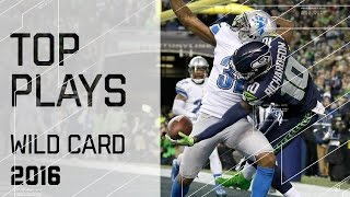 Top Plays of Wild Card Weekend! | NFL Highlights
