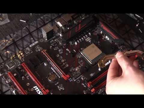 #3 Motherboard, Prozessor, Prozessorlüfter - Blender-Rechner bauen