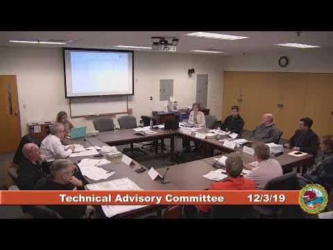 Technical Advisory Committee 12.3.2019