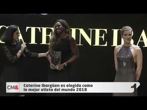 Caterine Ibargüen es elegida como la mejor atleta del mundo 2018