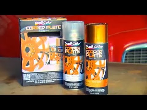 Copper Plate Kit for Wheels - Dupli-Color