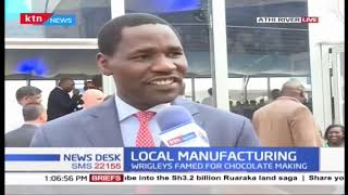 CS Peter Munya gives economic insights as Sh7B manufacturing plant is launched
