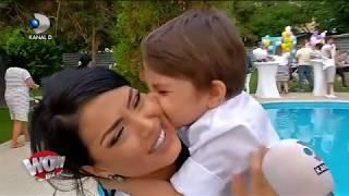 WOWBIZ (04.06.) - Andreea Mantea si Cristi Mitrea i-au facut o petrecere ca-n povesti fiului lor!