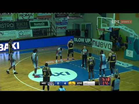 Basket League: Μεσολόγγι – Άρης   24/10/2020   ΕΡΤ