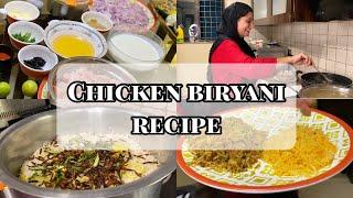 CHICKEN BIRYANI RECIPE | HOW TO MAKE CHICKEN BIRYANI | DIPIKA KAKAR IBRAHIM