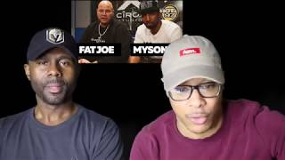 FAT JOE & MYSONNE FREESTYLES ON FUNK FLEX (REACTION!!!)