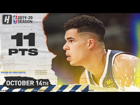 Michael Porter Jr. Full Highlights Nuggets vs Suns (2019.10.14) - 11 Points, 5 Reb!