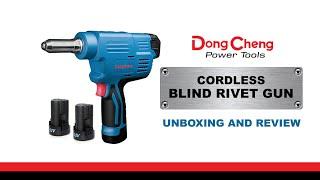 DONGCHENG CORDLESS BLIND RIVERTER REVIEW