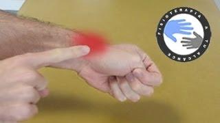 Tendinitis de muñeca o Quervain, estiramientos para aliviar el dolor
