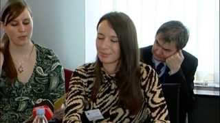 Malina Hedvig az Európai Parlamentben (angol nyelvű videó)