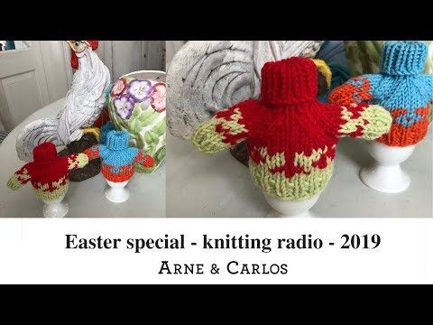 The ARNE & CARLOS Easter Special Podcast: Bottom-up or Top-down sweaters?