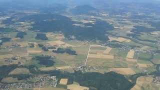 preview picture of video 'Germanwings Airbus A319-100 D-AGWJ Klagenfurt - Köln/Bonn Take Off'
