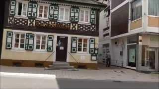 preview picture of video 'Bühl(Baden) Hauptstraße von Steinbach aus am 12.08.2014'
