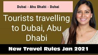Dubai Travel Rules 2021 || Dubai To Abu Dhabi Travel Rules || Mamta Sachdeva