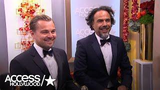 Golden Globes: Leonardo DiCaprio & Alejandro G. Inarritu - 'We Did Feel The Love'