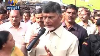 Chandrababu Sudden Visits To Tirupati Vents Anger On Sanitary