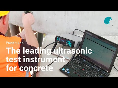 Pundit Lab Ultrasonic Pulse Velocity Tester