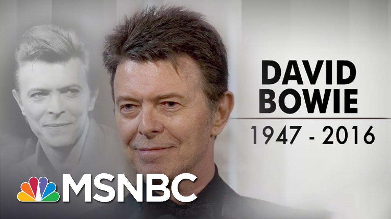 Rock Icon David Bowie Dies At 69 | MSNBC thumbnail