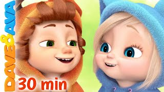 😃 If You're Happy and You Know It and More Nursery Rhymes and Kids Songs   Dave and Ava 😃