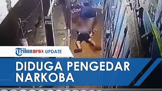 Beredar Rekaman CCTV Penangkapan Pemuda Diduga terkait Kasus Narkoba, Ternyata Ini Fakta Sebenarnya
