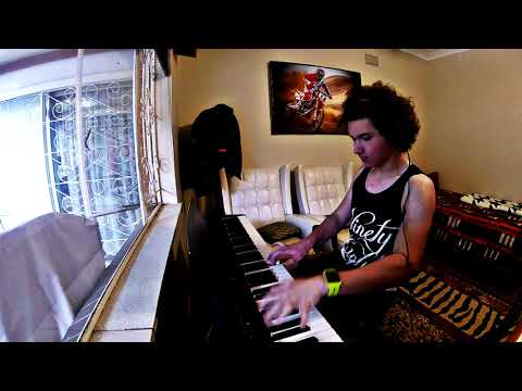 Rudy Mancuso and Poo Bear - Black & White piano cover