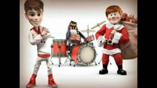 Justin Bieber- Santa Claus Is Coming To Town chipmunks