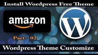 Wordpress free theme install