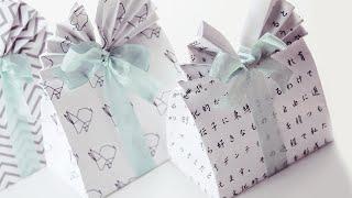Origami Gift Bag Tutorial - DIY - Paper Kawaii