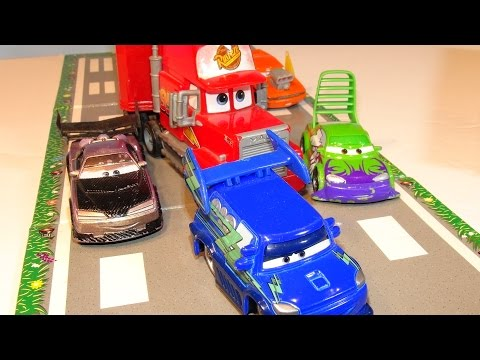 Disney Pixar Cars Lightning McQueen And Mack And Character Encyclopedia THE DELINQUENT ROAD HAZARDS