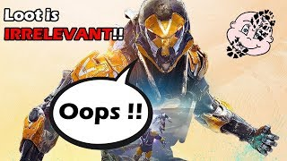 ANTHEM Loot is IRRELEVANT as Power Scaling BREAKS THE GAME!!