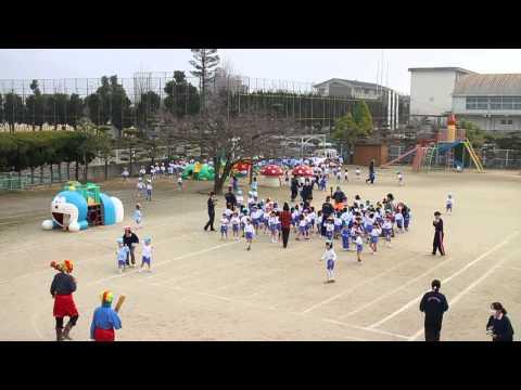 【慶応幼稚園(松山)】豆まき?(平成26年2月)