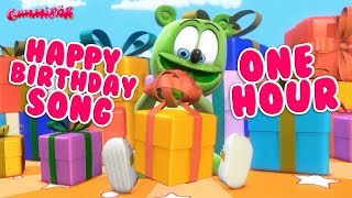 Happy Birthday To You ONE HOUR Happy Birthday Song * Gummibär Gummy Bear Song