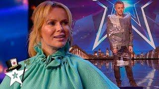 Amanda Holden Ties Up Comedy Magician on BGT | Magicians Got Talent