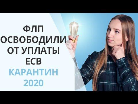 Карантин 2020: ФЛП освободили от уплаты ЕСВ на два месяца. Важно знать бухгалтеру